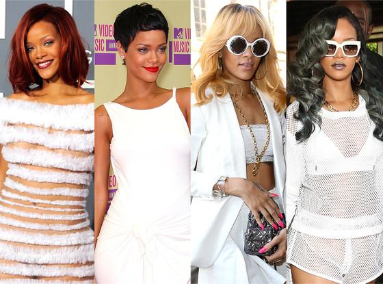 nieuwe look Rihanna