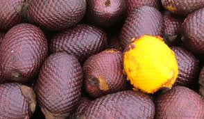 Aguaje het fruit voor verbeteren van vrouwelijke rondingen.